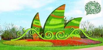 特色小镇绿色雕塑案例