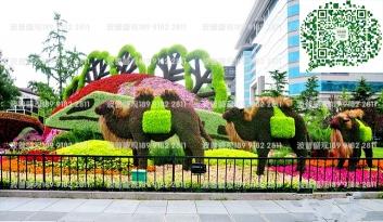 节日绿雕、广场绿雕赋能城市景观提升