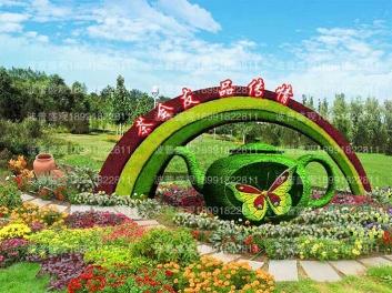 2020年创意立体花坛免费设计