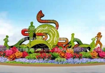 绿雕为第十四届全运会景观提升贡献瞩目亮点