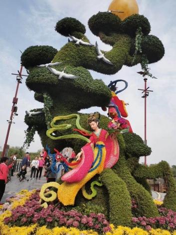 城市景观设计对绿雕的设计要求