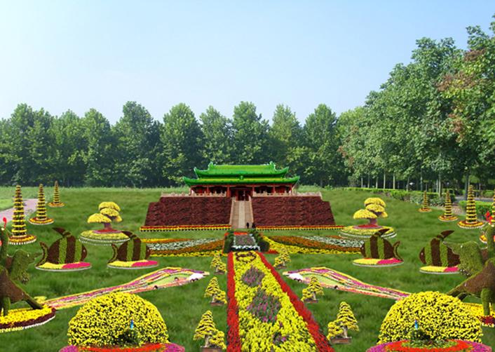 园林景观绿雕