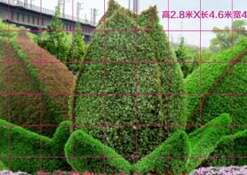 西安节日绿雕