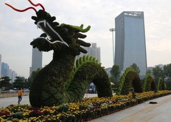 陕西庆典绿雕