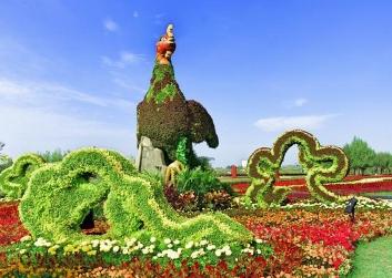 庆典绿雕厂家