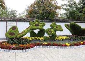 景区绿雕制作