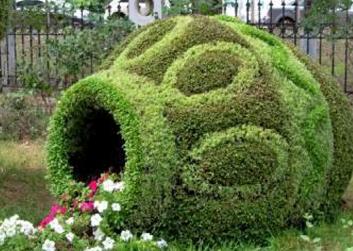 景区绿雕造型