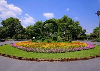 延安植物雕塑