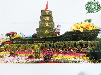 绿雕厂家、西安绿雕施工、陕西绿雕制作
