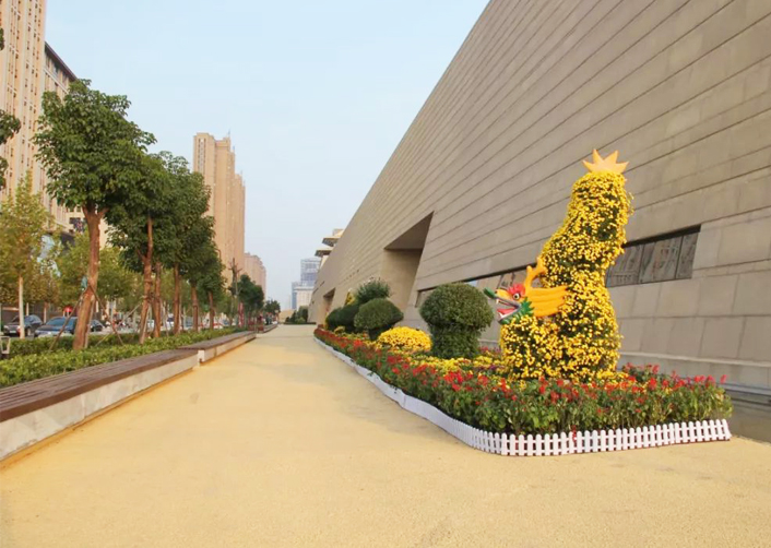 公园植物雕塑