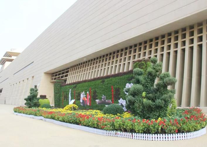 立体植物雕塑
