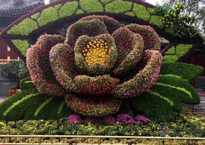 陕西立体花坛